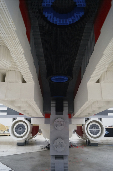 Life-size LEGO X-wing | The Blog's Revue by OlivierSC | Scoop.it