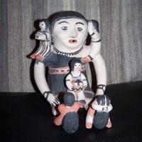 Storyteller by Seferina Ortiz, Cochiti Pueblo : Old Town Antiques | Los Storytellers | Scoop.it