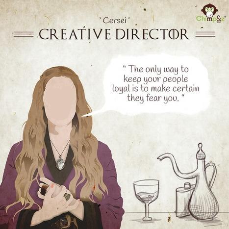 Et si les personnages de Game of Thrones bossaient en agence de pub | Marketing, e-marketing, digital marketing, web 2.0, e-commerce, innovations | Scoop.it