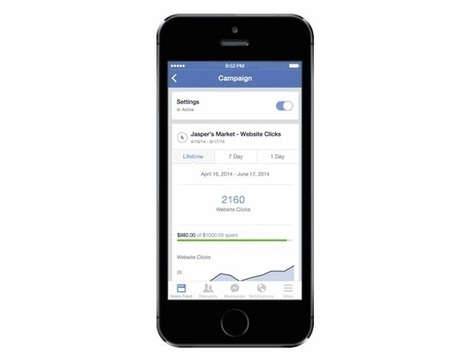 Facebook Ads Manager Goes Mobile - AllFacebook | Social Media Tools and new Technology | Scoop.it