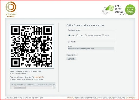Cool Cat Teacher Blog: QR Code Classroom Implementation Guide | 21st Century Tools for Teaching-People and Learners | Scoop.it