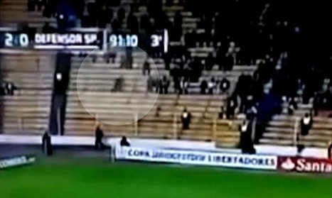 Ghost caught on camera running through fans at crowded soccer stadium - Examiner.com | E.A.P.I. | Scoop.it
