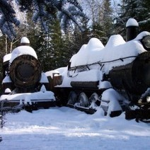 Old locomotives sit abandoned in the middle of Maine | Rockland and Maine coast | Scoop.it