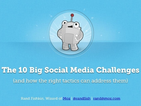 The 10 Big Social Media Challenges (and the tactics to solve them) | digital marketing strategy | Scoop.it