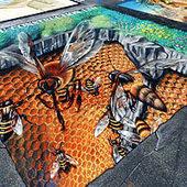 Amazing 3D Chalk Street Art | Art & Design | Scoop.it