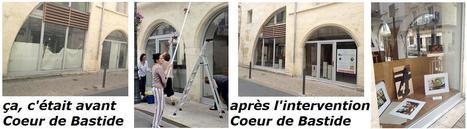 L'embellissement de la Bastide avance | Vitrines d'art à Sainte Foy la Grande - 2013 | Scoop.it