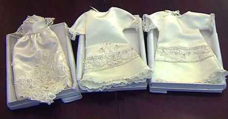 Babies laid to rest in transformed wedding gowns   Random Stuff On The Net   Scoop.it
