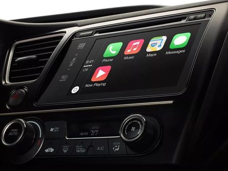 Mossberg: Who Owns the Dashboard? Apple and Google Should. | Market 2 Women | Scoop.it