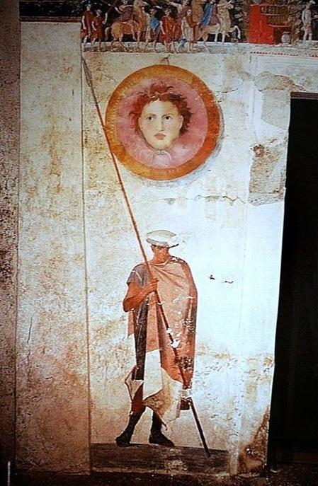 Algargos, Arte e Historia: LA PINTURA DE LA TUMBA MACEDÓNICA DE AGIOS ATHANASIOS, SALÓNICA. EL SIMPOSIUM DE UN MILITAR MACEDÓNIO. | Mundo Clásico | Scoop.it