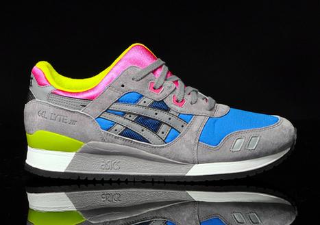 Asics Gel Lyte 3 Suede Bleu/Gris – chaussure | Sneakers_me | Scoop.it