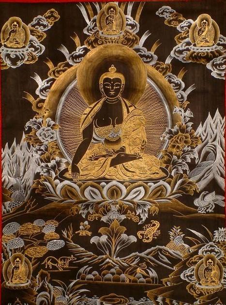"Padmasambhava,  Guru Rimpoche (precious guru), Tibetan Slob-dpon (""Teacher""), Padma 'Byung-gnas (""Lotus Born"")   Tibetan Spiritual Jewelry   Scoop.it"