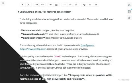 Penflip - Escritura colaborativa | Educacion, ecologia y TIC | Scoop.it