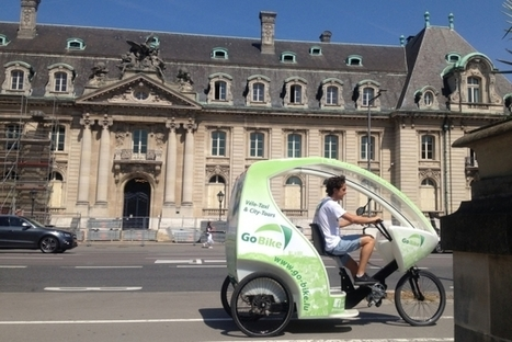 Les vélos-taxis débarquent en ville | GoBike | Luxembourg | Europe | Luxembourg (Europe) | Scoop.it