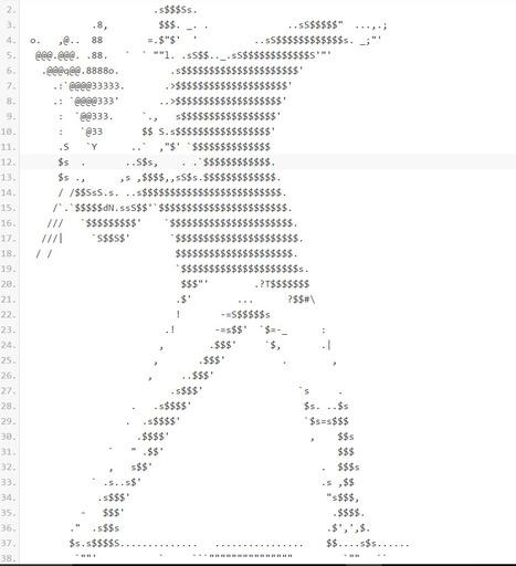 Banksy Ascii • /r/ASCII_Archive | ASCII Art | Scoop.it