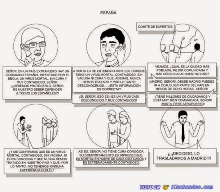 Diario de un ateo: La negligencia criminal del gobierno en su gestión de la crisis del Ébola | Partido Popular, una visión crítica | Scoop.it