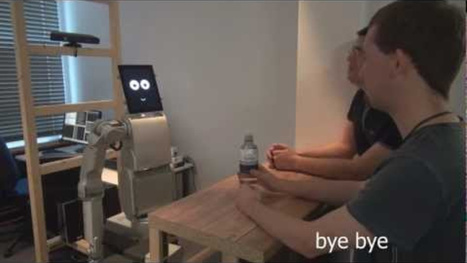 A Robot Bartender That Knows Who's Subtly Signaling for a Drink | Disruptive Innovation | Scoop.it