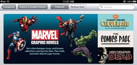 Apple adds graphic novel category to the iBookstore, including 80 from MarvelComics | Entrepreneurship, Innovation | Scoop.it