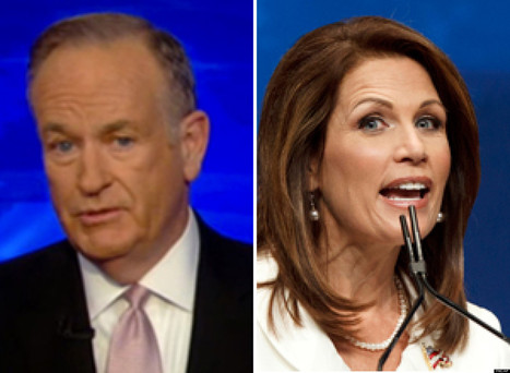 WATCH: O'Reilly Goes After Bachmann   Common Sense Politics   Scoop.it