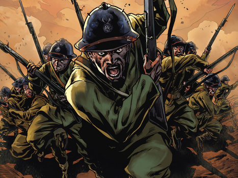 The Harlem Hellfighters: Fighting Racism In The Trenches Of WWI   JWK World History   Scoop.it