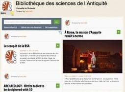 Le scoop.it de la BSA ? Hautement recommandé …   Bibliothèque des sciences de l'Antiquité   Scoop.it