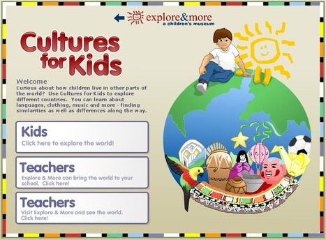 Welcome to Explore & More's Cultures for Kids | Cultural Characteristics of Families for Stage 1 | Scoop.it