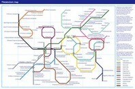 "A Subway Map Of The Metabolism [Infographic] | Popular Science | ""Biotech and Mol Bio"" 