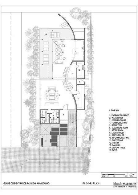 Pabellón de entrada de visitantes en Glade One / Khosla Associates - Plataforma Arquitectura | retail and design | Scoop.it