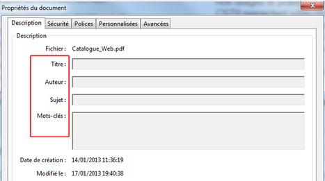 Comment optimiser vos pdfs pour votre référencement | Veille SEO - Référencement web - Sémantique | Scoop.it