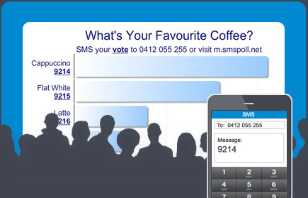 Free SMS Voting | Text Message Audience Polling : SMS Poll | Polling | Scoop.it
