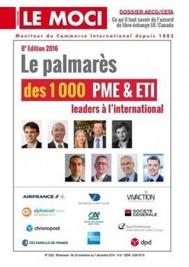 Le palmarès des 1000 PME & ETI leaders à l'international   Le Kiosque - GEA   Scoop.it