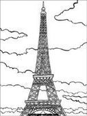 Coloriages et jeux de Paris | Arts et FLE | Scoop.it