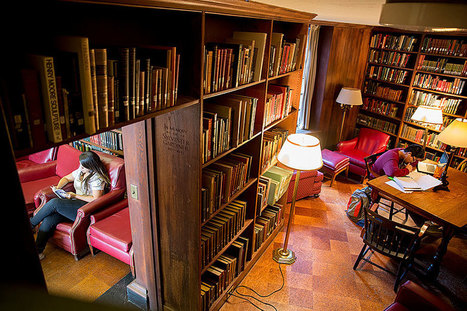 A look inside: Undergraduate House libraries | Kirjastorakennukset | Scoop.it