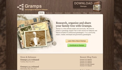 Gramps - Research and Organise your Family Tree   Information and Research:   Scoop.it