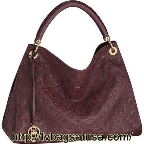 Louis Vuitton  Artsy MM Monogram Empreinte M93451 Handbags | Louis Vuitton Outlet Online Usa | Scoop.it
