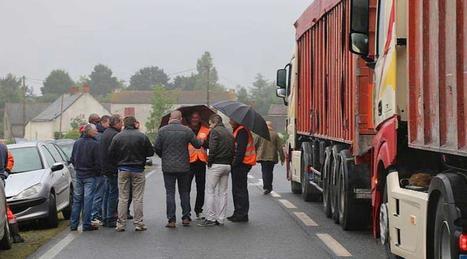Fonderie Bouhyer : grève et blocus à Ancenis | Forge - Fonderie | Scoop.it
