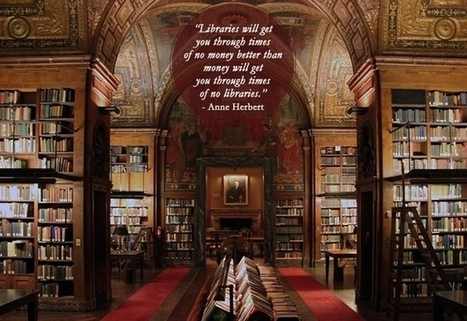 Community Post: 28 Beautiful Quotes About Libraries | lärresurser | Scoop.it