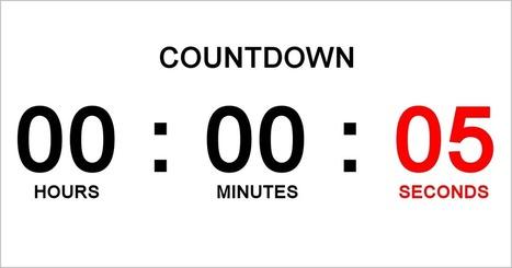 Countdown Timer | Tic, Tac... y un poquito más | Scoop.it
