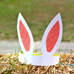 How to make bunny ears with Paper? - Holidays Celebration | Festival Holidays | Scoop.it