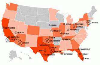 Mapping 1083 People Killed By Cops In The Last Year | Gold And Precious Metals | Criminal Justice in America | Scoop.it