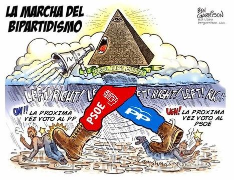 Y en resumidas cuentas ¿ A quién le importa que el Bipartidismo se quede cojo, si vista de Rojo o de Azul, Neoliberal es? | La R-Evolución de ARMAK | Scoop.it