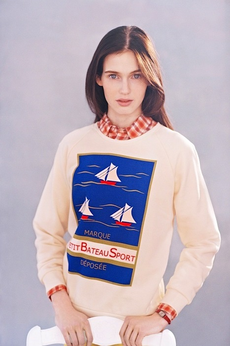 [I'm in love with...] Petit Bateau by Maison Kitsuné | F/W '13/'14 | Shot by Ola Rindal | CHICS & FASHION | Scoop.it