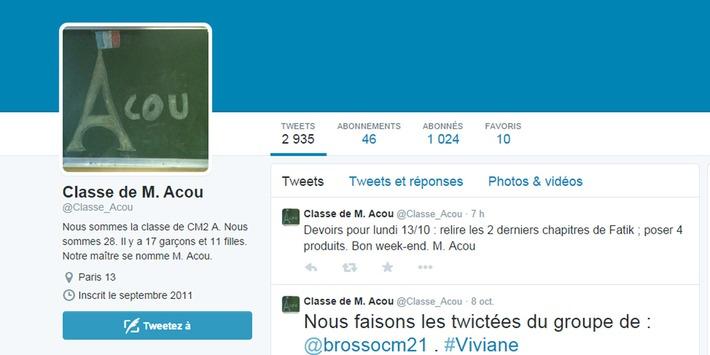 """Quand la dictée sur Twitter devient la """"twictée""""   TIC et TICE mais... en français   Scoop.it"""