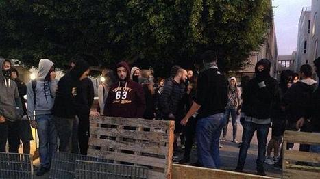La huelga de educación concluye con la quema de contenedores en Valencia | Huelga | Scoop.it