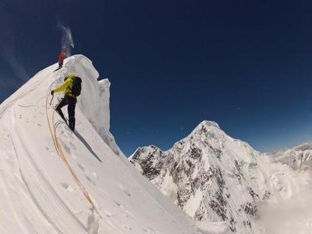 Simon Anthamatther y los hermanos Auer abren una exigente ruta ... - Outdoor Actual | Montaña | Scoop.it