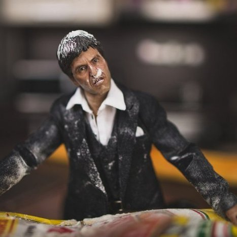 Scarface Action Figure | Gadgets | Scoop.it
