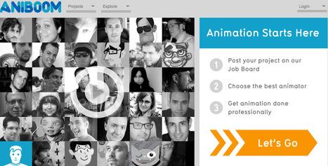 Aniboom - Animation Starts Here | Bibliotecas Escolares & boas companhias... | Scoop.it
