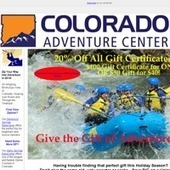 Give the Gift of Adventure | Colorado Whitewater Rafting Trips - Vail Rafting Adventures | Scoop.it