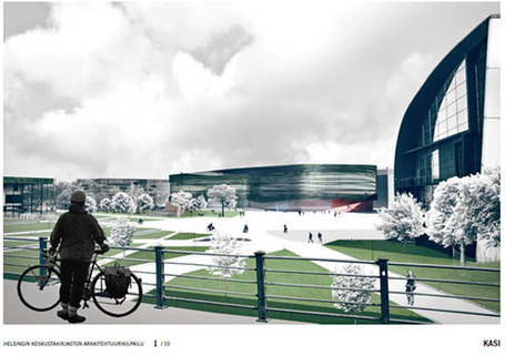 Helsinki City Library - Six Proposals to Progress in Helsinki Central Library Architectural Competition | Future Trends in Libraries | Scoop.it