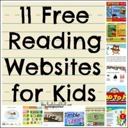 11 Free Reading Websites for Kids | Teacher's Lounge Blog | Really Good Stuff® | Web  2.0 | Scoop.it