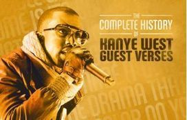The Complete History of Kanye West Guest Verses | History | Scoop.it